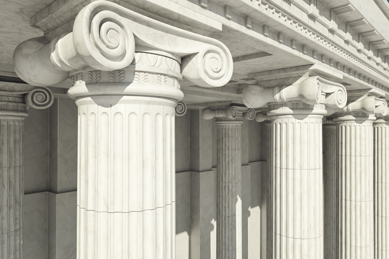 Roman Columns Photo